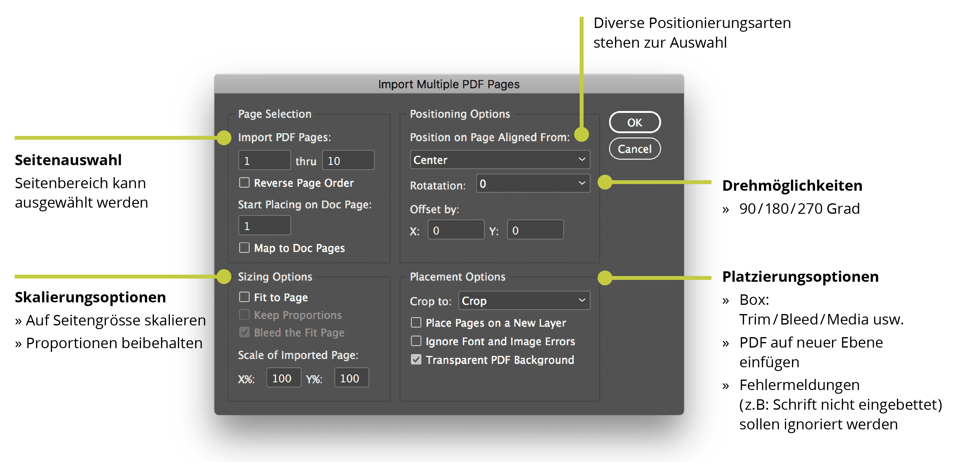 Multi Page Importer für InDesign