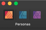 Die Affinity Publisher Personas