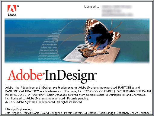 InDesign wird 20