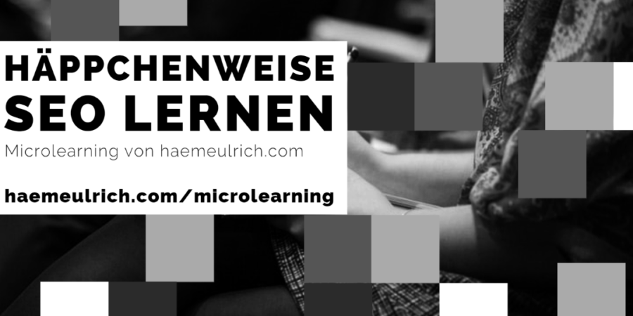 Microlearning by haemeulrich.com
