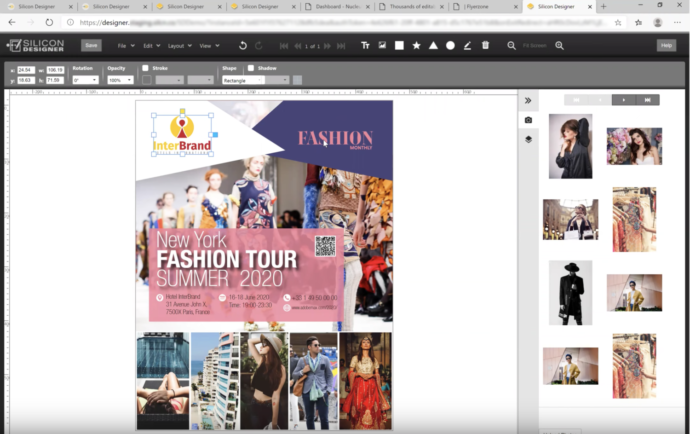 Edit InDesign documents online