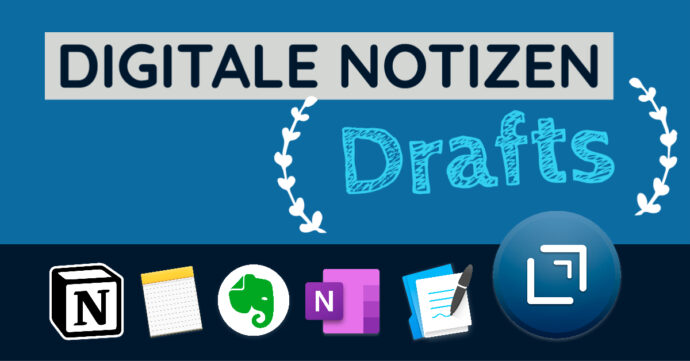 Digitale Notizen - Drafts