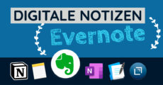 Digitale Notizen - Evernote