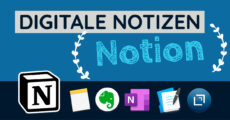 Digitale Notizen - Notion