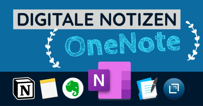 Digitale Notizen - OneNote